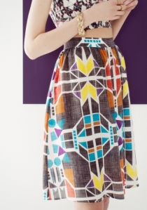 Alyson Fox Silk Skirt £45