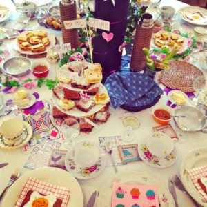 Christabel's mad hatter brunch party