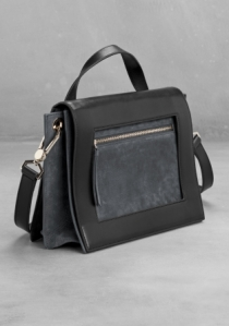 & other stories two-tone shoulder bag 2