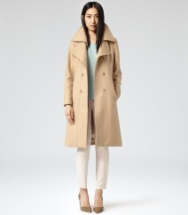 reiss board coat
