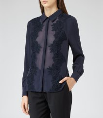 Reiss sofia shirt